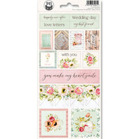 P13 - Till We Meet Again Collection - Cardstock Sticker Sheet - Two