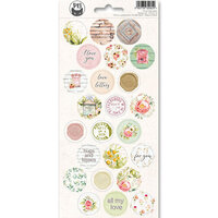 P13 - Till We Meet Again Collection - Cardstock Sticker Sheet - Three