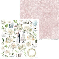P13 - Truly Yours Collection - 12 x 12 Double Sided Paper - 07
