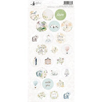 P13 - Truly Yours Collection - Cardstock Sticker Sheet - Three