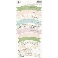 P13 - Truly Yours Collection - Cardstock Sticker Sheet - Party One