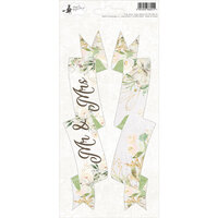 P13 - Truly Yours Collection - Cardstock Sticker Sheet - Party Three