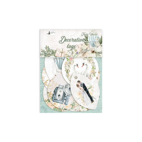 P13 - Truly Yours Collection - Embellishments - Tag Set - One