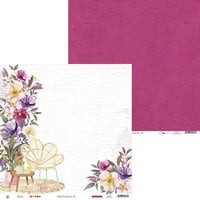 P13 - Time To Relax Collection - 12 x 12 Double Sided Paper - 03