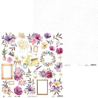 P13 - Time To Relax Collection - 12 x 12 Double Sided Paper - 07
