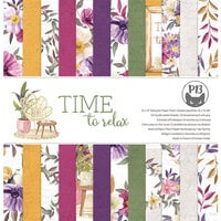 P13 - Time To Relax Collection - 12 x 12 Paper Pad