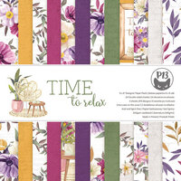 P13 - Time To Relax Collection - 6 x 6 Paper Pad