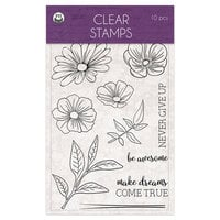 P13 - Time To Relax Collection - Clear Photopolymer Stamps