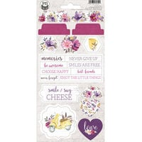 P13 - Time To Relax Collection - Chipboard Stickers - Sheet 03