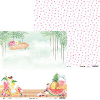 P13 - Summer Vibes Collection - 12 x 12 Double Sided Paper - 02