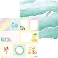 P13 - Summer Vibes Collection - 12 x 12 Double Sided Paper - 05