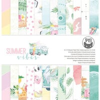 P13 - Summer Vibes Collection - 12 x 12 Paper Pad