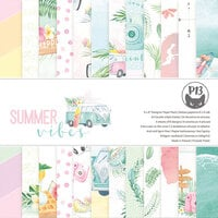 P13 - Summer Vibes Collection - 6 x 6 Paper Pad