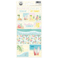 P13 - Summer Vibes Collection - Cardstock Stickers - Sheet 02