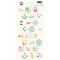 P13 - Summer Vibes Collection - Cardstock Stickers - Sheet 03