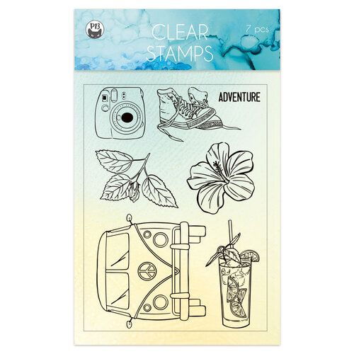 P13 - Summer Vibes Collection - Clear Photopolymer Stamps