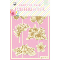 P13 - Summer Vibes Collection - Chipboard Embellishments - Set 01