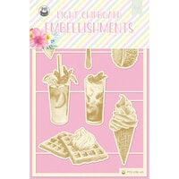 P13 - Summer Vibes Collection - Chipboard Embellishments - Set 02