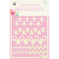 P13 - Summer Vibes Collection - Chipboard Embellishments - Set 06