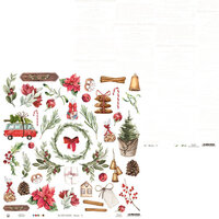 P13 - The Four Seasons Collection - 12 x 12 Double Sided Paper - Winter 07