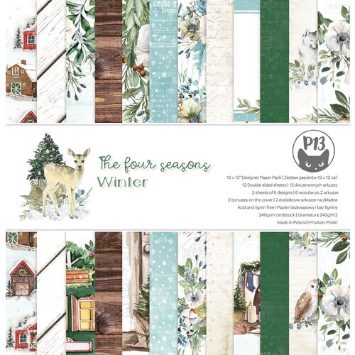 P13 - The Four Seasons Collection - 12 x 12 Paper Pad - Winter
