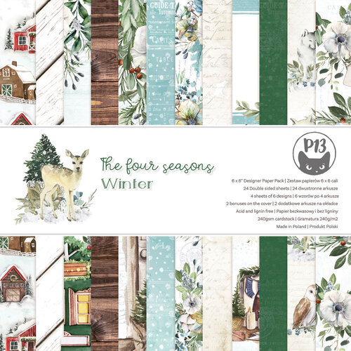 P13 - The Four Seasons Collection - 6 x 6 Paper Pad - Winter