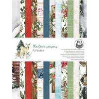 P13 - The Four Seasons Collection - 6 x 8 Paper Pad - Winter