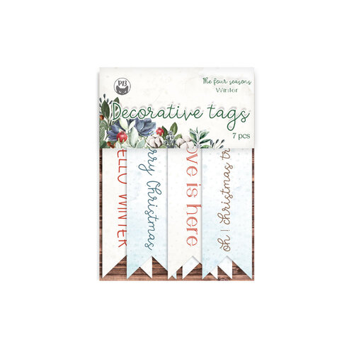P13 - The Four Seasons Collection - Embellishments - Tags - 02