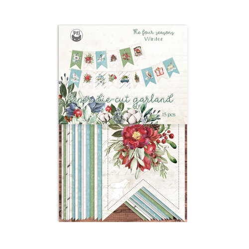 P13 - The Four Seasons Collection - Double Sided Die Cut Garland - Winter