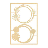 P13 - The Four Seasons Collection - Chipboard Embellishments - Winter Set 01