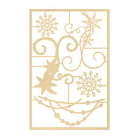 P13 - The Four Seasons Collection - Chipboard Embellishments - Winter Set 02