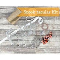Papertrey Ink - Clear Photopolymer Stamps - Spook-tacular Halloween Kit