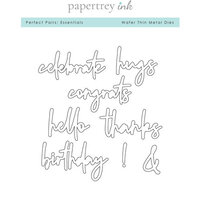 Papertrey Ink - Metal Dies - Perfect Pairs - Essentials