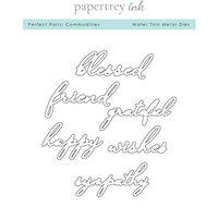 Papertrey Ink - Metal Dies - Perfect Pairs - Commodities