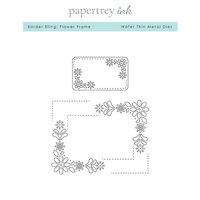 Papertrey Ink - Metal Dies - Border Bling - Flower Frame
