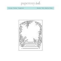 Papertrey Ink - Metal Dies - Tropical Cover Plate