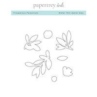 Papertrey Ink - Metal Dies - Prosperous Perennials