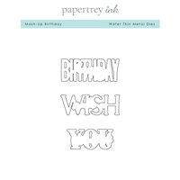 Papertrey Ink - Metal Dies - Mash-Up Birthday