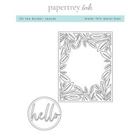 Papertrey Ink - Metal Dies - On the Border - Leaves
