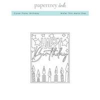 Papertrey Ink - Metal Dies - Birthday Cover Plate