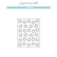 Papertrey Ink - Metal Dies - Maple Leaves Cover Plate