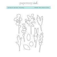 Papertrey Ink - Metal Dies - Sprigs and Sprays - Holiday