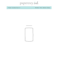 Papertrey Ink - Metal Dies - Vase - Set 4