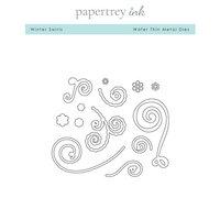 Papertrey Ink - Metal Dies - Winter Swirls