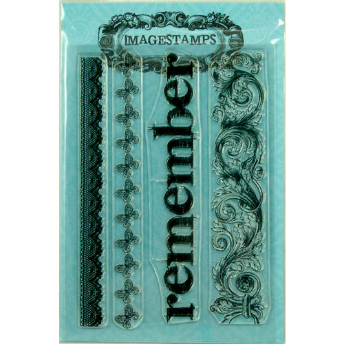 Photocentric Inc. - Imagestamps - Clear Acrylic Stamps - Border Lines