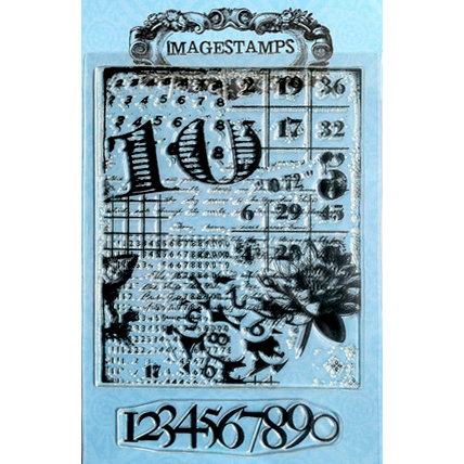 Photocentric Inc. - Imagestamps - Clear Acrylic Stamps - Count Me In