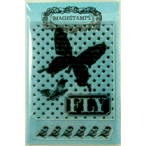 Photocentric Inc. - Imagestamps - Clear Acrylic Stamps - Butterfly