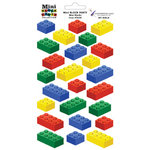 Paper Wizard - Block Party Collection - Lego - Stickers - Mini Blocks