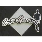 Paper Wizard - Old School Sports Collection - Die Cuts - Cross Country Title