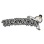 Paper Wizard - Old School Sports Collection - Die Cuts - Tae Kwon Do